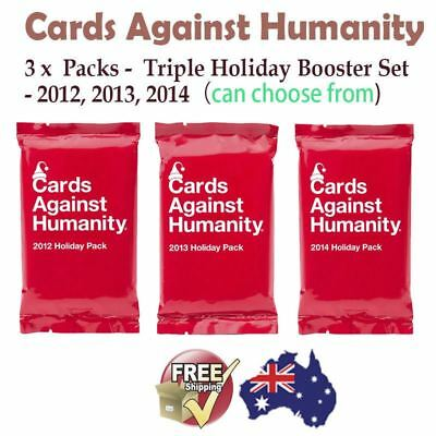 NEW Cards Against Humanity Booster Expansion Holiday Pack Set Card Party Game
