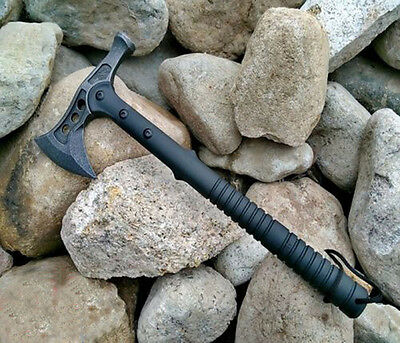 New Tactical Tomahawk Axe with Hammer Head Army Outdoor Hunting Camping