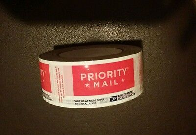 1 Roll Usps Priority Tape Jan 2015 Red Usps Logo Free Shipping.