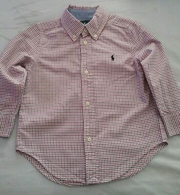 Ralph Lauren Boys Shirt Size 3