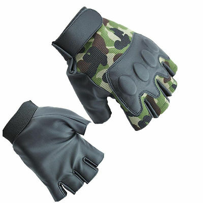 Outdoor Sport Gloves Men Half Finger Camping Bicycle  Cycling Gloves hiking Hot
