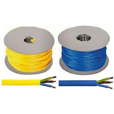 3183AG 3 Core Arctic Flexible Cable Yellow/Blue 1.5mm 2.5mm 4mm 50m 100m Drum
