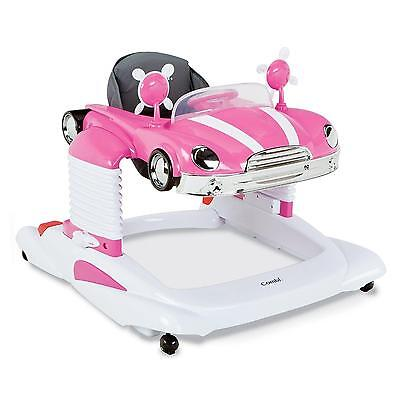 Baby Walker Car Mobile Entertainer Pink Retro Baby Toy Learning Walking *NEW*