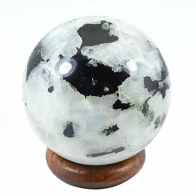 Rainbow MOONSTONE Crystal Sphere Ball Healing Tourmaline 40-45 MM