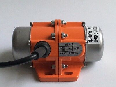 220V/50HZ Vibration Motor 30W adjustable speed single phase.