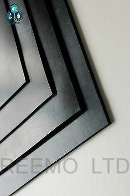 NEOPRENE RUBBER SHEET 1MM, 2MM & 3MM THICK / 200MM x 200MM SQUARE