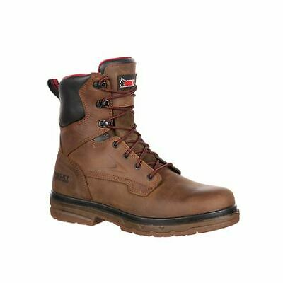59763598835 ROCKY RKK0160 Elements Shale Mens Brown Waterproof 8