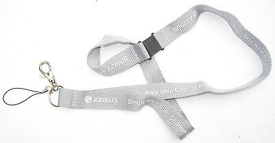AIRBUS Single Aisle Step Change Hamburg Schlüsselband Lanyard NEU (A3)