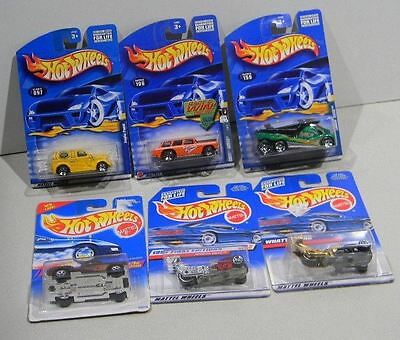 Hot Wheels Mixed lot  6 Anglia Panel Chevy Nomad Cabbin Fever Stamp Bag 101