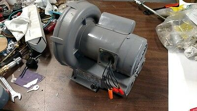 Regenerative Blower, Ring Compressor, 1/2 HP, FUJI, MODEL # VFC 300 P-5T