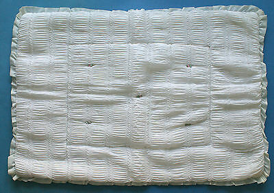 Ladybird Pram / Cot Quilted Cover (White) 1970s Hardly Used