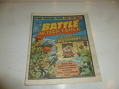 BATTLE ACTION FORCE Comic - Date 19/05/1984 - UK Paper Comic