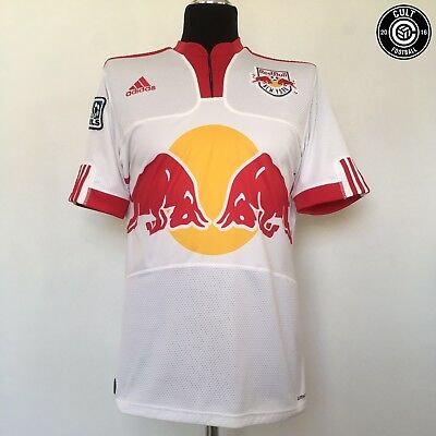 NEW YORK NY RED BULLS Football Soccer Shirt Jersey 2009 (M) USA MLS