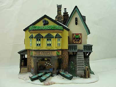 Dept 56 Dickens Village The Grapes Inn 5th Edition 1996 w/ Box - Retired
