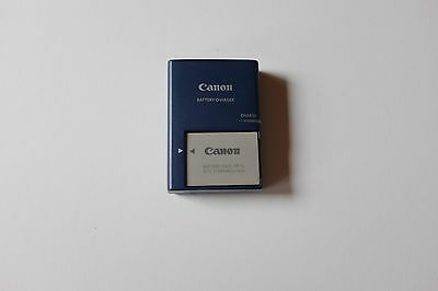 Canon digital camera battery charger CB-2LX G with NB-5L 3.7 volt battery