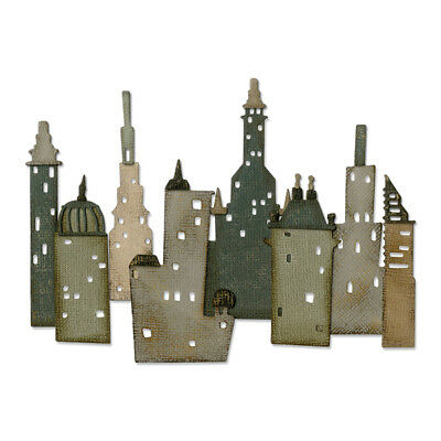 Sizzix - Thinlits Die Set 18 Pack - Cityscape - Metropolis by Tim Holtz