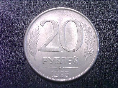 Russia   Federation    20   Roubles    1993