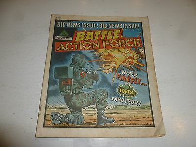 BATTLE ACTION FORCE Comic - Date 02/03/1985 - UK Paper Comic