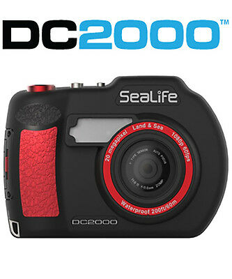 SeaLife DC2000 Underwater Camera and Housing NEW
