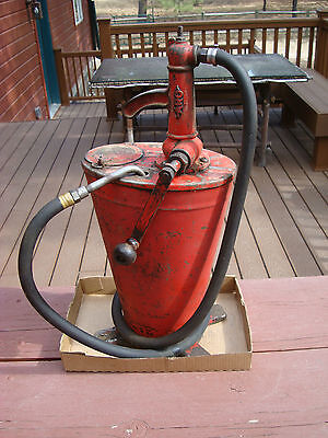 Old Aro, Grease Or Oil Pump, Service Station Tool,