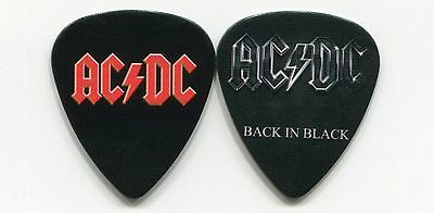 AC/DC Novelty Guitar Pick!!! Malcolm Angus Young BACK IN BLACK #3
