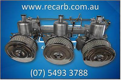 Holden Red Motor 6cyl Reconditioned SU Carb Conversion Kit - New Manifold