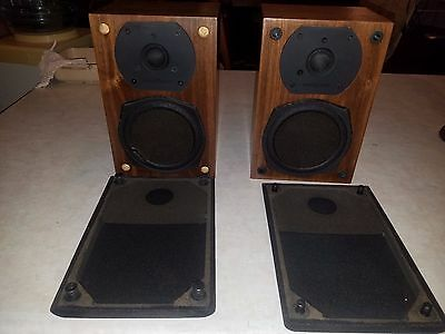 Phase Technology Pc 40 Mark Ii Bookshelf Speakers Set Of 2 1 For Parts