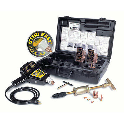 H & S Autoshot Uni-Spotter Deluxe Stud Welder Kit with Stud Ease 9000 New