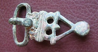 Authentic Ancient Artifact > Sarmatian belt buckle, 3rd - 5th Centuries AD K28