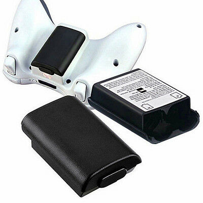 White/Black Xbox 360 Wireless Controller AA Battery Pack Case Cover Holder Shell