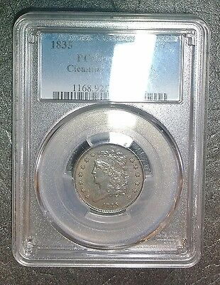 """1835  CLASSIC HEAD HALF CENT  """"PCGS XF-details""""  1835   $69.99   *FREE SHIPPING*"""