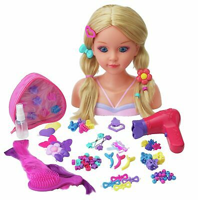 Chad Valley 100 Piece Styling Dolls Head
