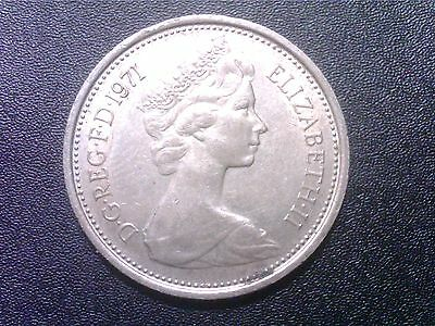 Great   Britain    5   Pence    1971  Aw19