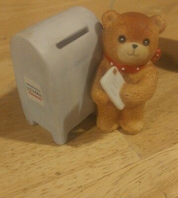 VTG 1983 Lucy & Me Teddy Bear Mailing a Letter. Lucy and Me by Enesco