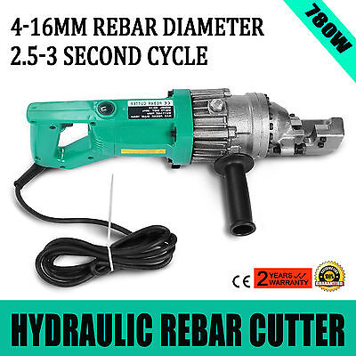 780W Electric Rebar Cutter Ce Certification 2.5S Cycle Time Reo Steel Great