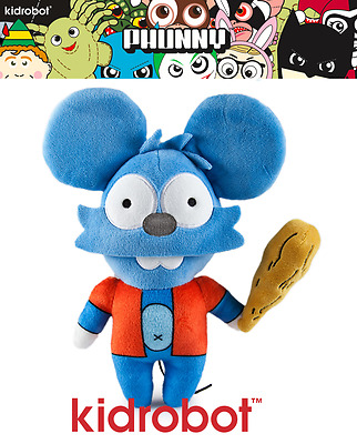 Kidrobot Simpsons Itchy & Scratchy Show - Itchy Phunny Plush Figur  - Neu/ovp