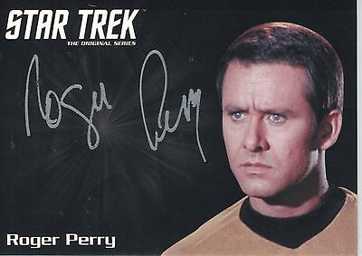 Star Trek TOS 50th Anniversary (2016) Roger Perry autograph