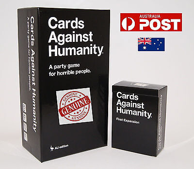 Genuine Cards Against Humanity V1.7 Australian Game Main Base Set  123456 Exp