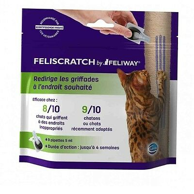 feliscratch feliway chat 9 pipettes