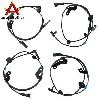 ABS Wheel Speed Sensor Front Rear Left & Right Set of 4 For Lancer Outlander