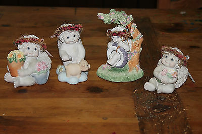 lot of 4 First Release Dreamsicles figurines approx.3-5in.