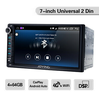 Joying HD 7 inch Double 2din Car Radio Stereo WiFi GPS Navi 4GB RAM Android 8.1