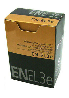 New Battery En-El3E For Nikon D50 D70S D70 D80 D90 Shipped With Tracking Number