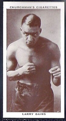 Churchman-Boxing Personalities-#17- Larry Gains