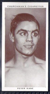 Churchman-Boxing Personalities-#21- Peter Kane