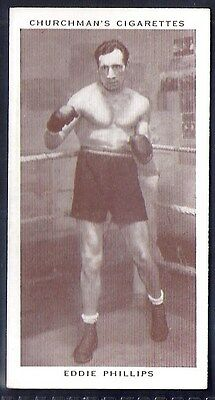 Churchman-Boxing Personalities-#33- Eddie Phillips