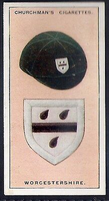 Churchman-Famous Cricket Colours-#21- Worcestershire