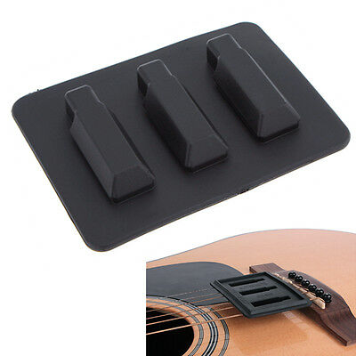 Elastic Silica Gel Mute Device Guitar Silencer for Classical Guitar Practice
