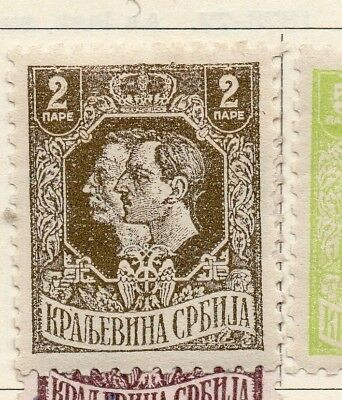 Serbia 1918 Early Issue Fine Mint Hinged 2p. 151592