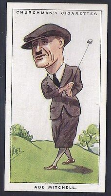 Churchman-Men Of The Moment In Sport-#29- Golf - Abe Mitchell